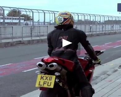 *Video:ducati hq silverstone track